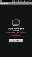 Screenshot of Bolle Photo Wifi