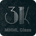 3K MNML Glass - Icon Pack