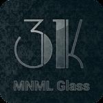 3K MNML Glass - Icon Pack v3.4.1