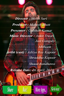 aashiqui 2 - free songs - screenshot thumbnail