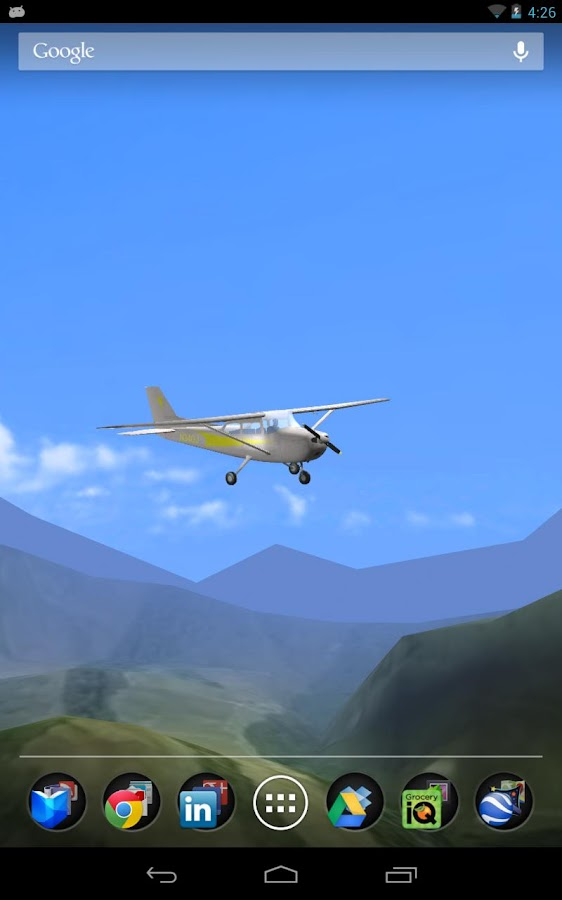 Aviation 3D Free - Light Plane - screenshot
