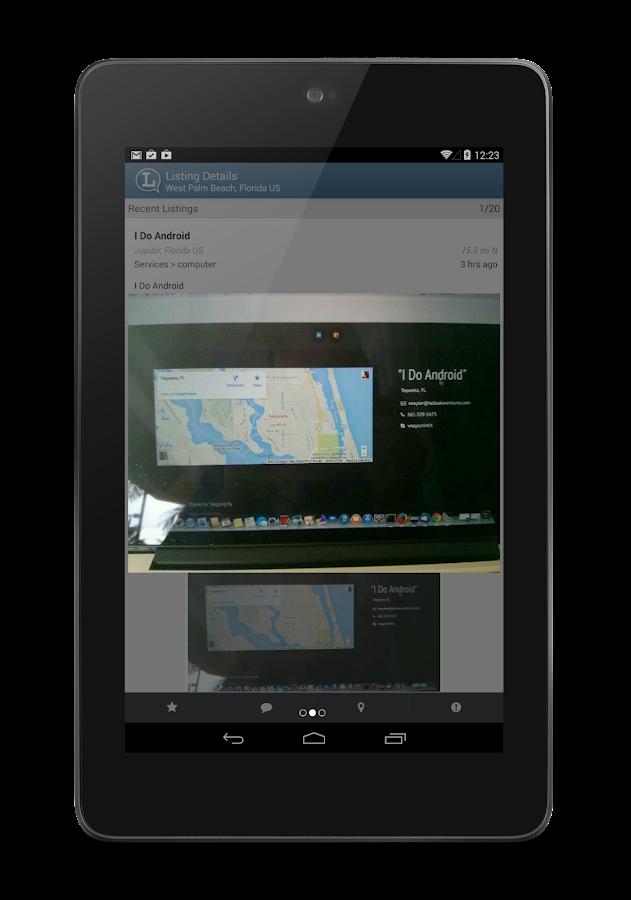 ListNChat - screenshot