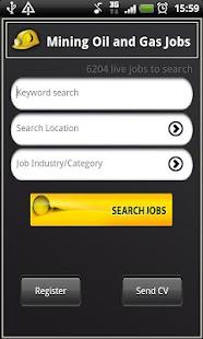Mining Oil and Gas Jobs - screenshot thumbnail