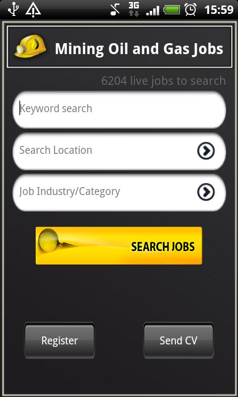 Mining Oil and Gas Jobs - screenshot