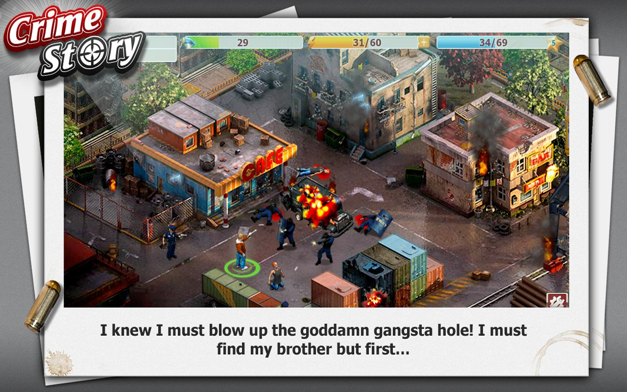 Crime Story - screenshot