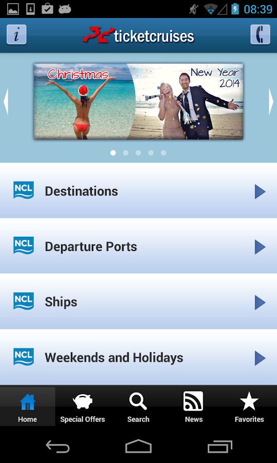 Ticketncl - Cruises- screenshot