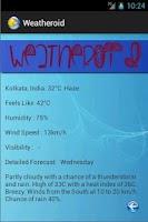 Screenshot of Weatheroid: Weather reports!