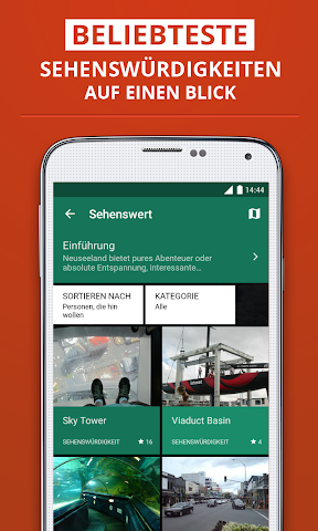 Screenshot 2 Auckland Reiseführer
