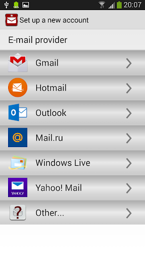 Wise Mail Client for Hotmail