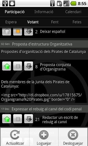 Screenshots for PIRATACAT