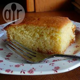 Orange Scented Semolina Cake.