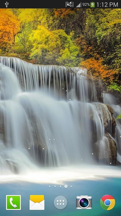 waterfall live wallpaper pro screenshot