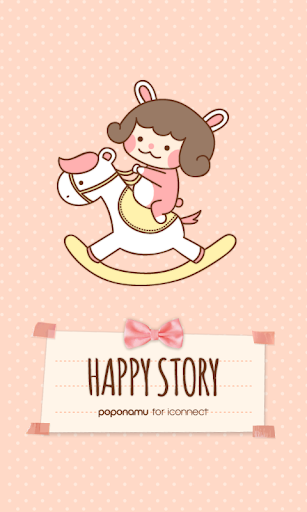 Happy story go launcher theme