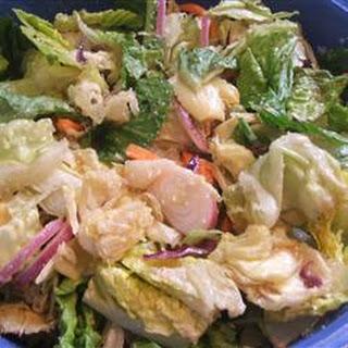 Restaurant-Style House Salad.