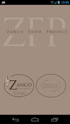 Zanco Food Project
