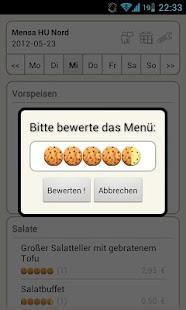 Mensa Berlin- screenshot thumbnail