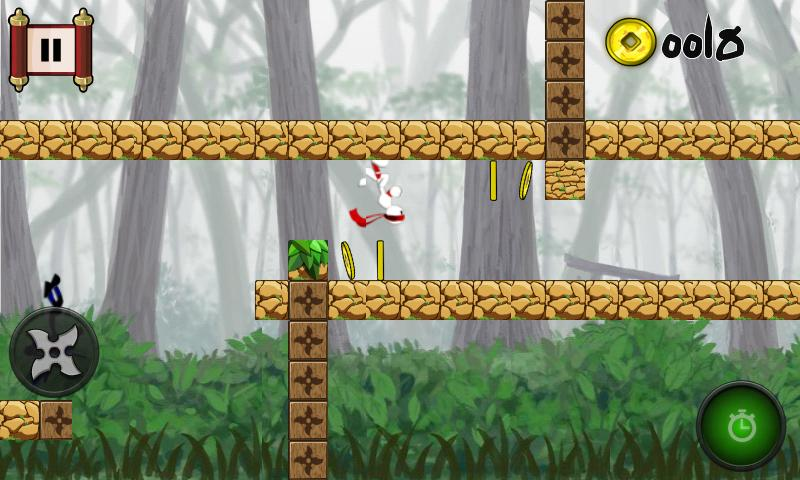 Run Ninja Jump DX Free Games - screenshot