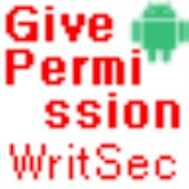 Give Permission WRITE_SECURE