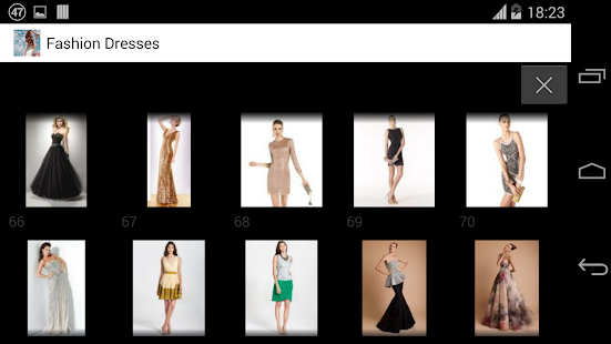 时尚连衣裙