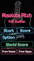 Screenshot of Guitar Practice Perfect Pitch
