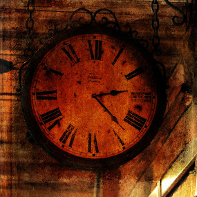 Telling Time by Randi Grace Nilsberg - Digital Art Things ( history, time, old, vintage, clock, textures, old fashioned )