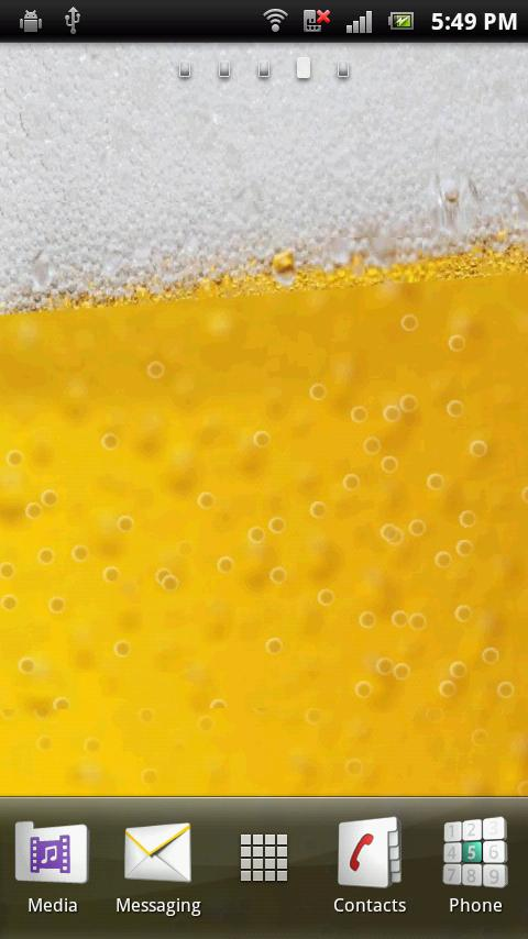 Cool Glass Bubbly Beer - screenshot