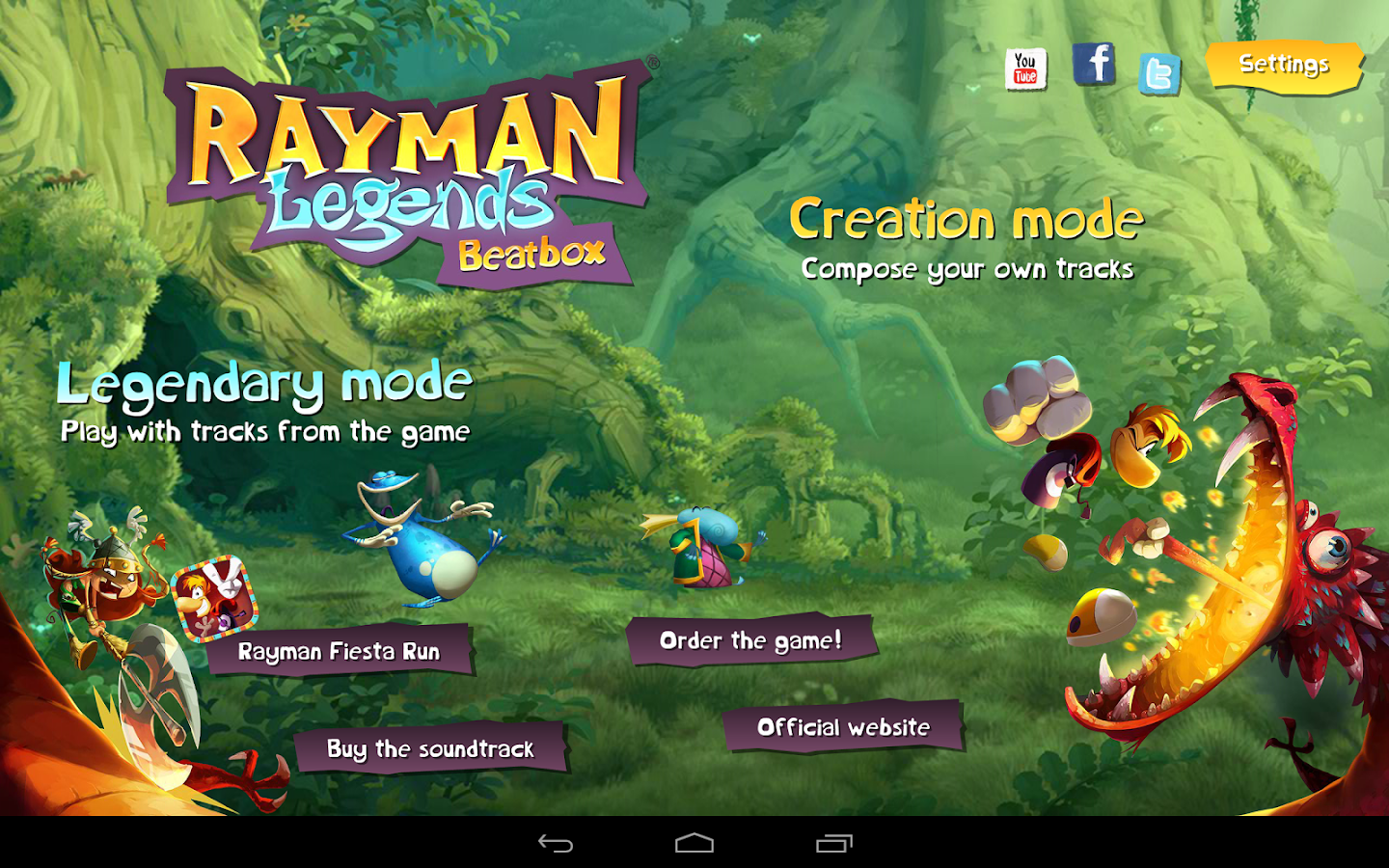 Rayman® Legends Beatbox - screenshot