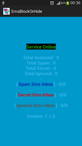 Sms Block Hide and Auto Clear