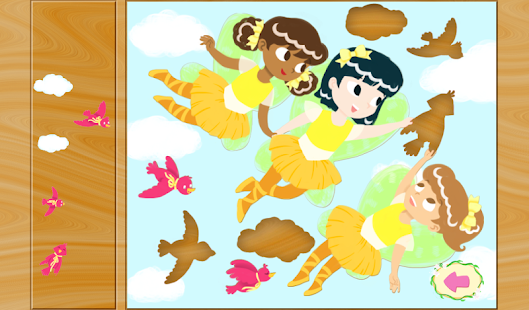 Fairy Ballerina Puzzles- screenshot thumbnail