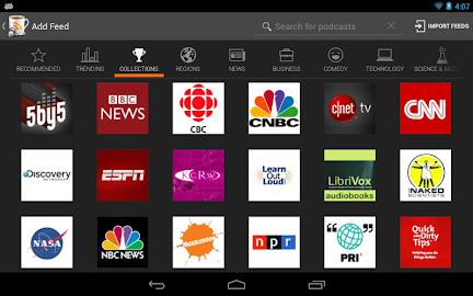 BeyondPod for Tablets - Legacy Screenshot 12