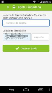 Tarjeta Ciudadana- screenshot thumbnail
