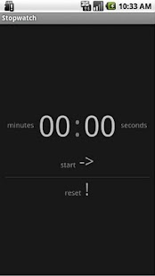 Simple Stopwatch Free - screenshot thumbnail