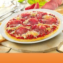 Abbildung Steinofen-Pizza Salami