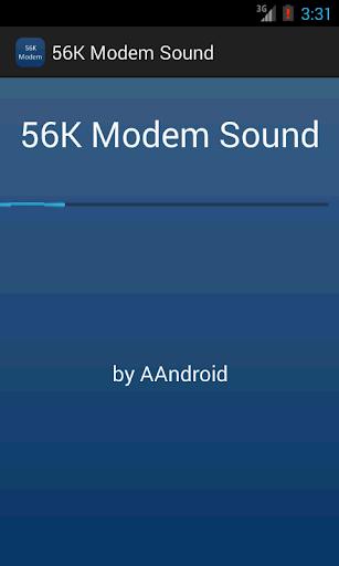 56K Modem Sound