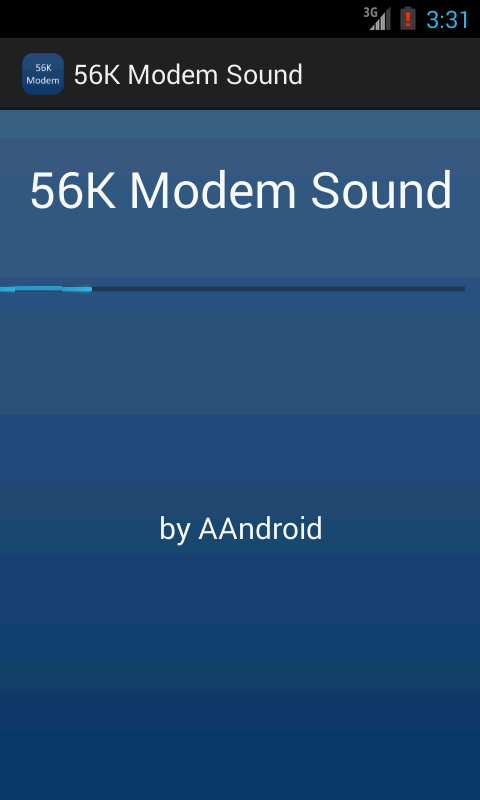 56K Modem Sound- screenshot