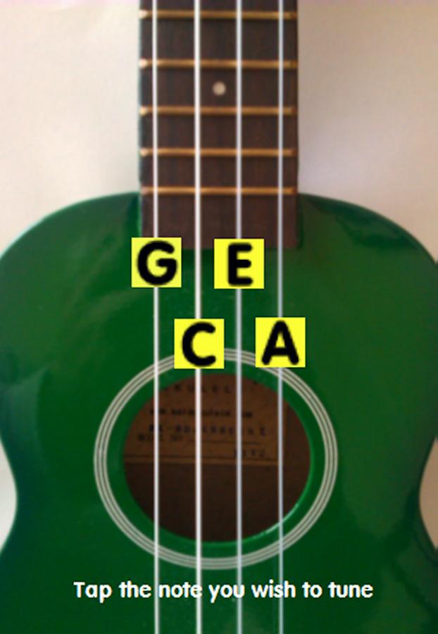 get tuned up a simple ukulele tuner tune your ukulele in the key of c ...