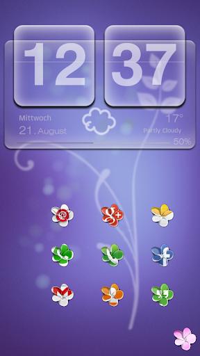 Flowers icon theme