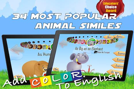 玩免費教育APP|下載The New Animal Similes - Free app不用錢|硬是要APP
