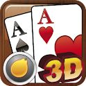 Ban Luck 3D-Chinese blackjack logo