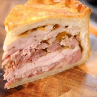 Chicken and Ham Hock Pie