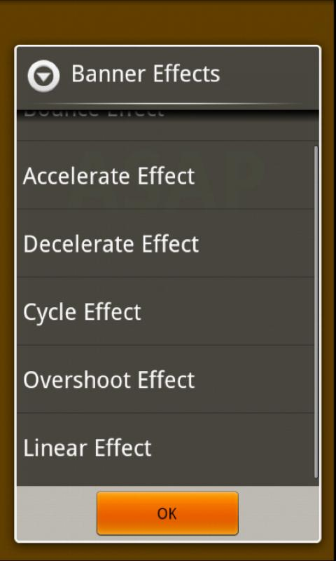 Custom Banners- screenshot