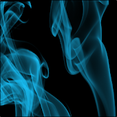 Blue Haze Keyboard Skin