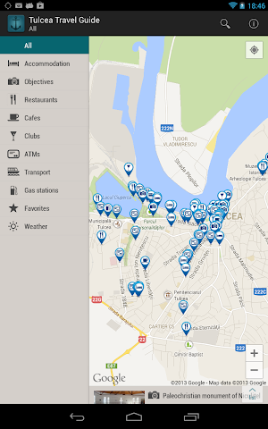 Screenshots for Tulcea Travel Guide