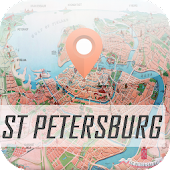 St Petersburg Map