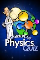 Screenshot of FreePlay Physics Quiz