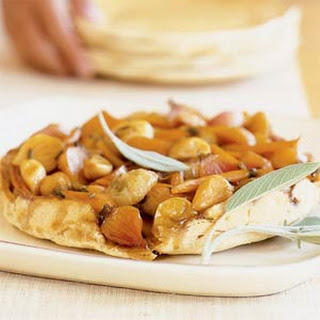Upside-down Caramelized Root Tart