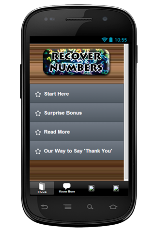 Recover Numbers Free