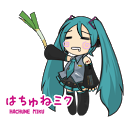 """Hachune Miku"" Live Wallpapers icon"