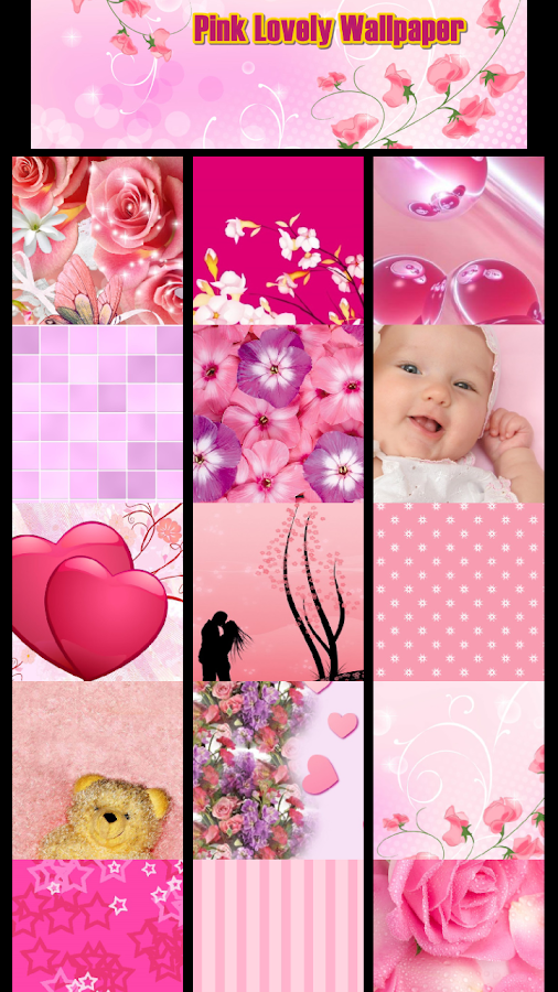 Pink Lovely Wallpaper - screenshot