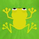 Tummy full! Pakkun in frog icon